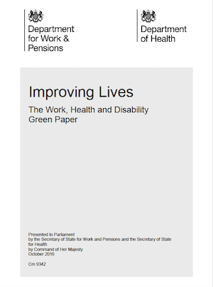 Image of Improving Lives Green Paper